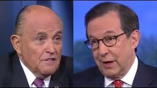 Fox News host calls out Giuliani to his face over Mueller report lies