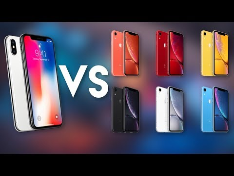 Should You Get An IPhone X Or XR?