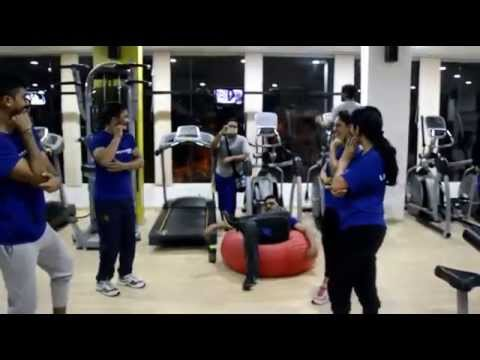Bangalore Flash Mob (Ding Chakers) Life Fitness.