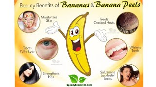 Beauty Benefits of Bananas and Banana Peel #benefits #bananas #peel