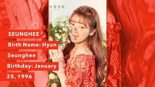 GET TO KNOW OH MY GIRL Members profiles looks voices Secret Garden 2018