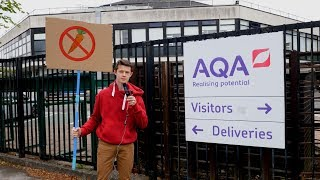 I Went to AQA HQ to PROTEST about the 2018 GCSE's
