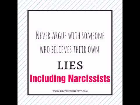 What to Expect Arguing With a Narcissist Part 1