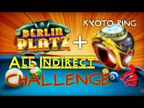 8 BALL POOL - INDIRECT ALL CHALLENGE IN BERLIN !! DESTROYING DIRECT PLAYER LOL