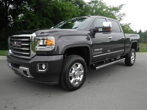 2015 Gmc Sierra 2500 Hd All Terrain Crew Cab Duramax Plus