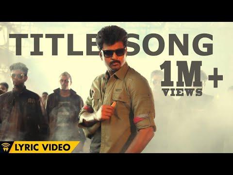 Kaaki Sattai Title Song - Kaaki Sattai | Sivakarthikeyan | Anirudh | Lyric Video