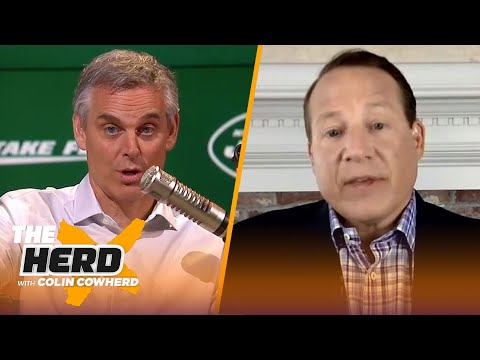 Eric Mangini on the Jets' relationship with Jamal Adams, talks Brady, Rodgers, & AB | NFL | THE HERD