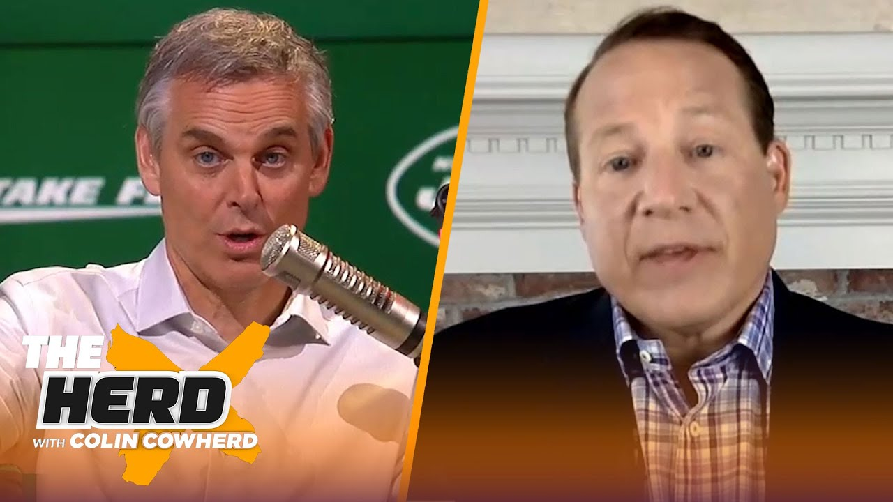Eric Mangini on the Jets' relationship with Jamal Adams, talks Brady, Rodgers, & AB   NFL   THE HERD - The Herd with Colin Cowherd thumbnail