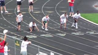 100m Dash at the 2010 WV Hershey Track and Field Meet