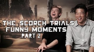The Scorch Trials Funny Moments Part 2