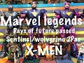 Marvel Legends Days of Future passed SENTINEL/WOLVERINE 2pack X-MEN action figure toys