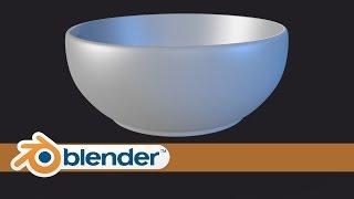 Modeling Mangkok - Modeling Bowl in Blender | Bahasa Indonesia