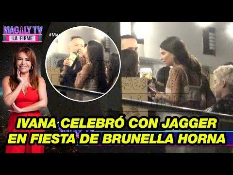 Ivana Yturbe celebró con jagger en fiesta de Brunella Horna