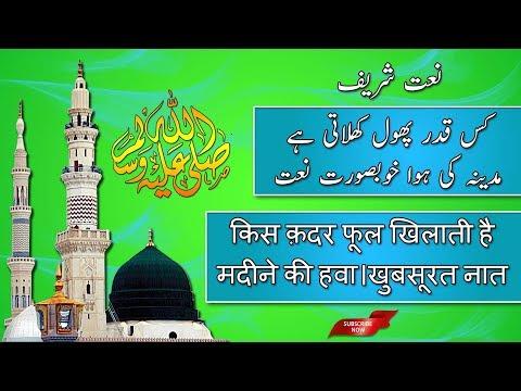 Best Heart Touching Naat Sharif | Kis Qadar Phool Khilati Hai | New Naat 2018 | The Humanity