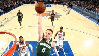 Highlights: Bucks 123 - Knicks 102 | 12.21.19