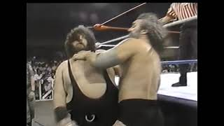 1 6 88 Bruiser Brody vs Grizzly Boone WWC Wrestling