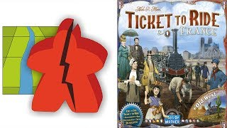The Broken Meeple - Ticket To Ride: France Review