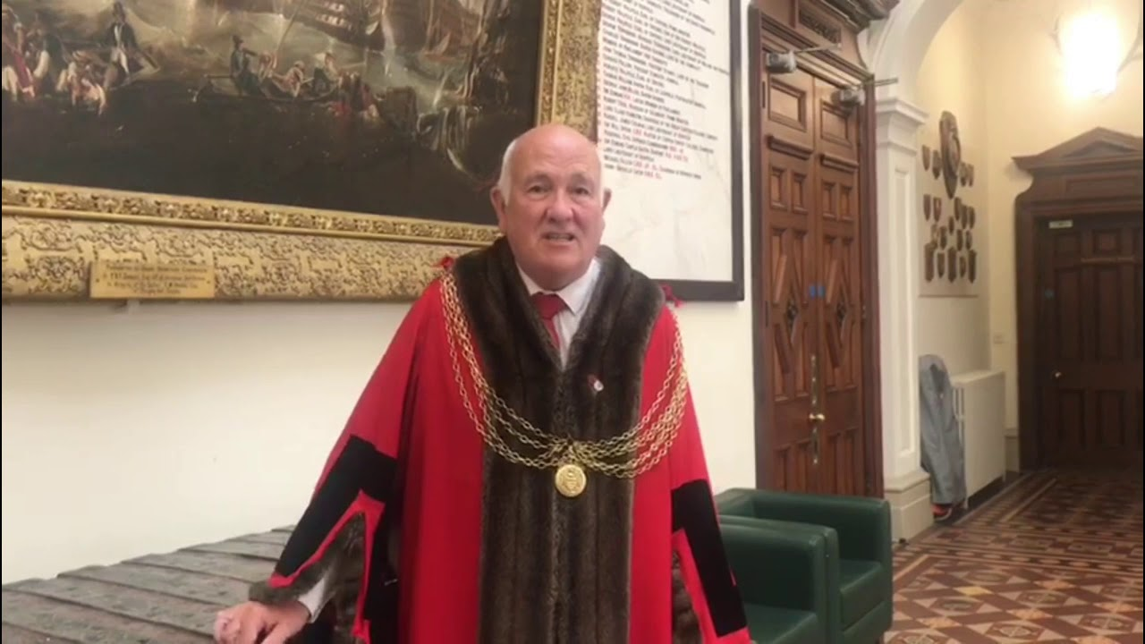 Message from Cllr Michael Jeal, the Mayor of the Great Yarmouth Borough -  YouTube