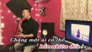 Karaoke PHÍA SAU MỘT CÔ GÁI ANH KHANG COVER