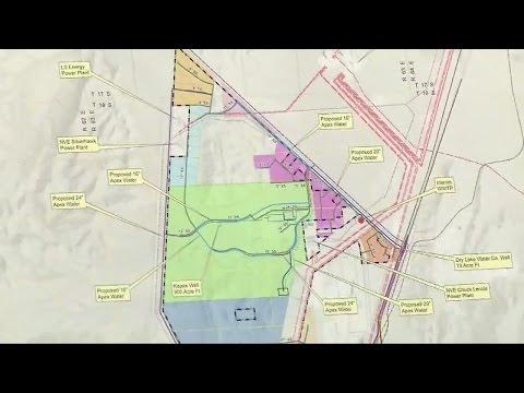 North Las Vegas mayor discusses future of Apex Industrial Park