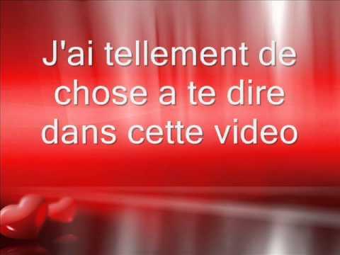 Cadeau Pour Mon Amour Youtube