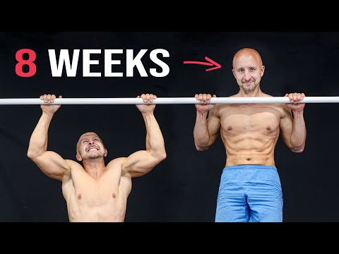 The 8-Week Pull-Up Challenge (Everyone Can Do!)