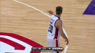 Nathan Sobey with 21 Points vs. Sydney Kings