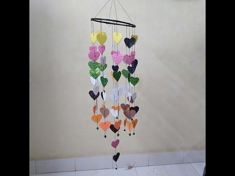 DIY Pearl Wind Chime || Home Decor Idea || DIY Handmade Things !!!Paper Craft