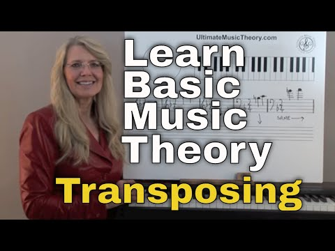 Transposing - Music Theory: Video Lesson 10