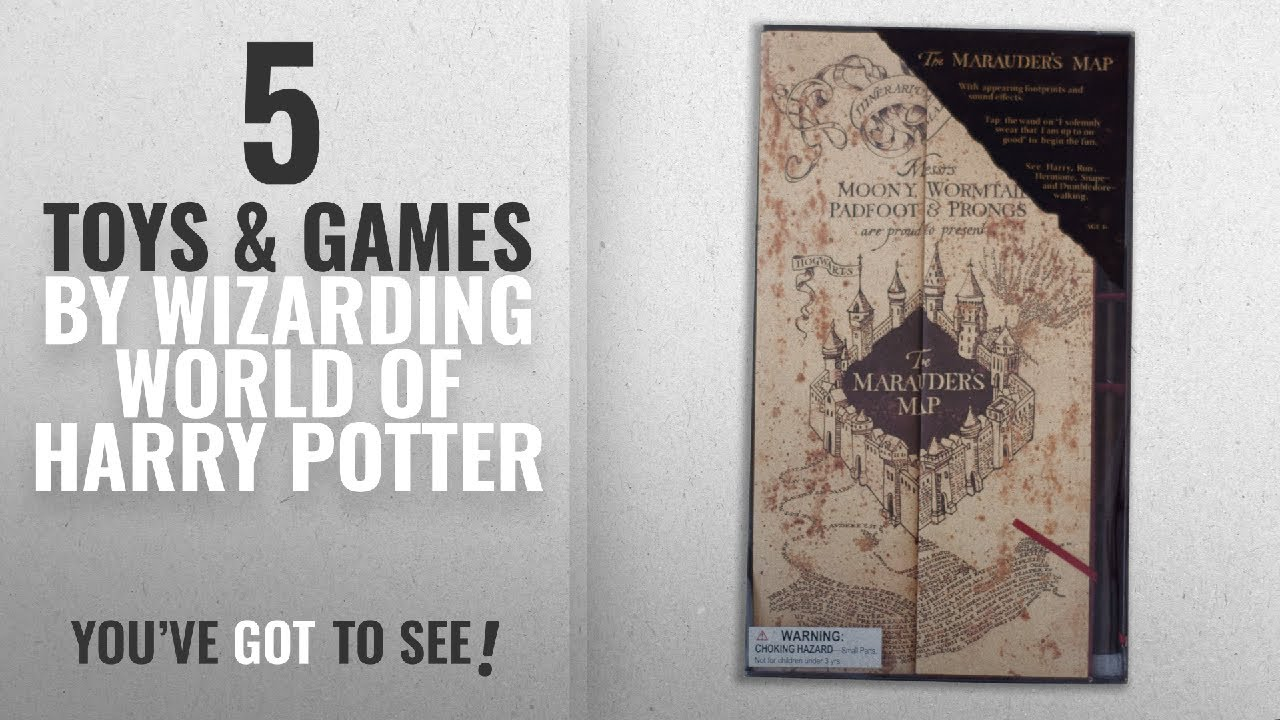 Top 10 Wizarding World Harry Potter Toys & Games [2018