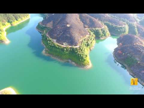 Reservoir in YangJiang China - BY TL Drone Filming