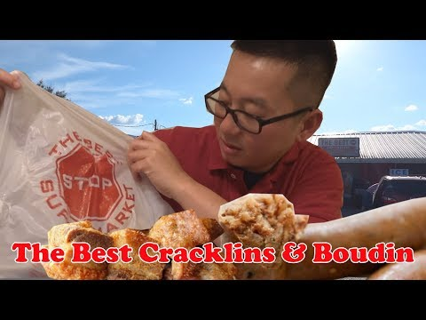 The Best Cracklins And Boudin In Louisiana @ The Best Stop Supermarket | Scott | Lousiana