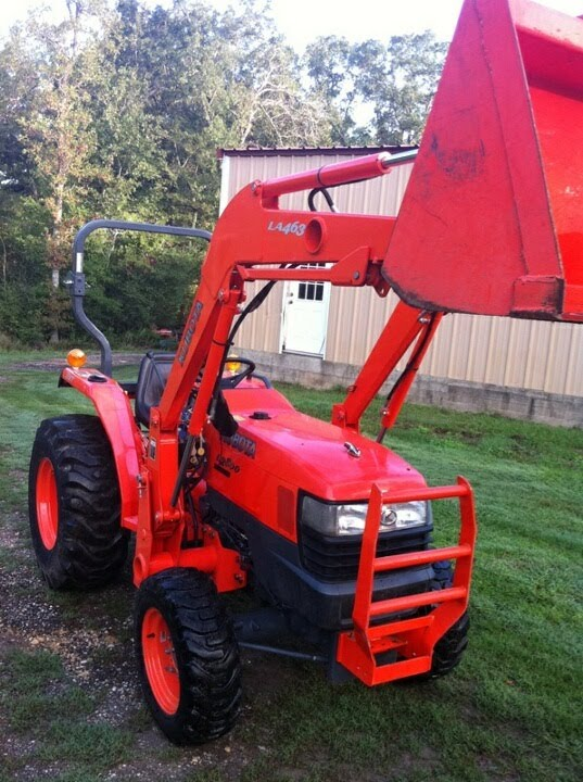 Kubota L Hst Tractor La463 Front End Loader 4x4 For