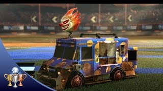 Rocket League - How to Unlock Sweet Tooth - Battle Car Collector Trophy