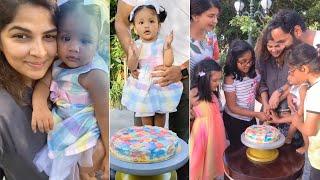 Manchu Vishnu Wife Viranica Reddy Making Birthday Cake | Manchu Lakshmi | Latest Tollywood News