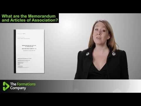 What are the Memorandum and Articles of Association?