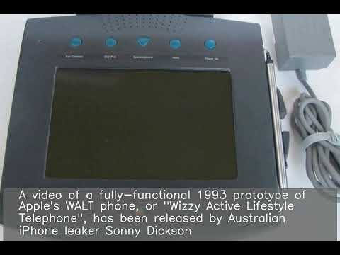 Morris Knight - (VIDEO) Take A Look At Rare 1993 Apple Gadget That Was Never Released