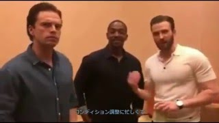 [字幕] キャプテン・アメリカ:シビルウォー / 戦いの続き(腕立て) thumbnail