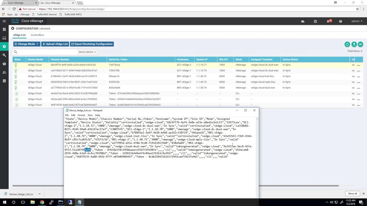 Cisco SD-WAN Sandbox Module 1 - The Bring Up Process
