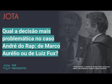 Sem Precedentes, ep39: Qual decisão mais problemática no caso André do Rap, de Marco Aurélio ou Fux?