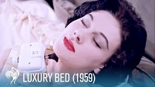 Luxury High Tech Bed: A Gadget Lover's Dream (1959) | British Pathé