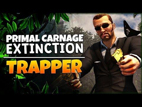 Primal Carnage: Extinction | Trapper Gameplay