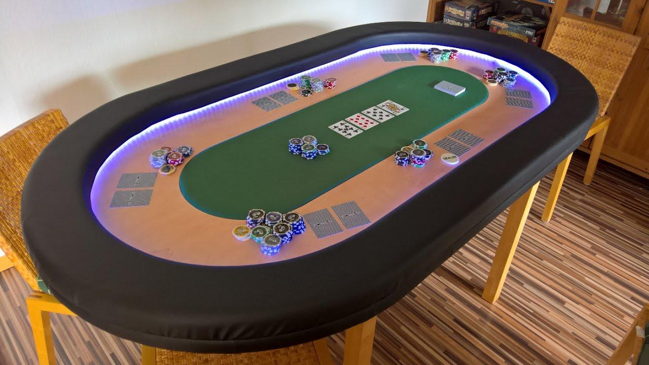 Profi Pokertisch