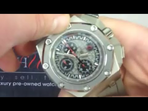 Audemars Piguet Royal Oak Offshore Michael Schumacher Limited Edition Luxury Watch Review