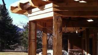 Building A Pergola Custom Cedar Pergola Build