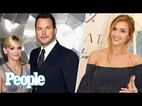 Inside Chris Pratt & Anna Faris' Split, Jessica Alba Can't Wait For 3rd Baby   People NOW   People