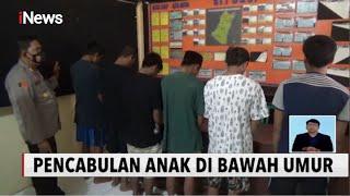 Enam Pemuda Cekoki Miras & Perkosa Anak Di Bawah Umur - INews Siang 27/10