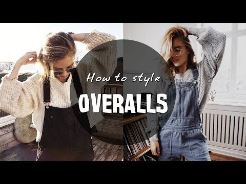 HOW TO STYLE OVERALLS   Outfit Ideas & Layering