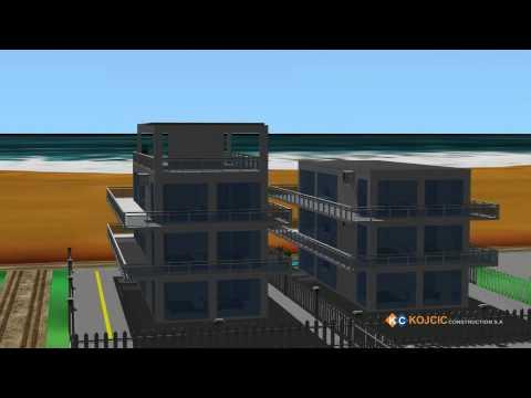 Kojcic construction S.A.(Brazil) - 2 Buildings with 3 floors