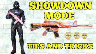 TOP 10 SHOWDOWN MODE TIPS AND TRICKS ll WIN EVERY SHOWDOWN MATCH ll